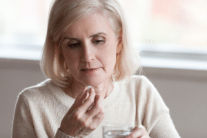 HRT therapy in traditional medicine for women in their menopause