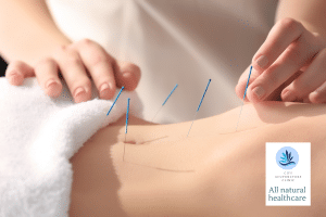Traditional acupuncture hand belly
