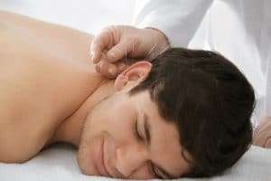 Expected relax from acupuncture treatment